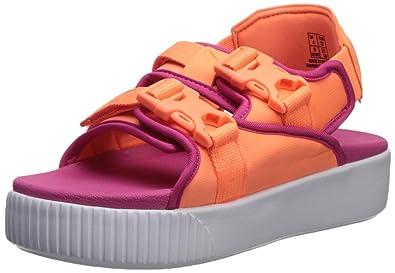 b08b65224230 Amazon.com  PUMA Women s Platform Slide YLM Sandal