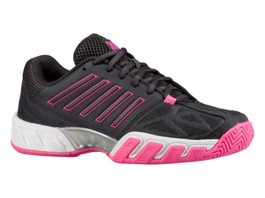 e40b38a3213 Galleon - K-Swiss Bigshot Light 3 Womens Tennis Shoe (Magnet Neon  Pink White
