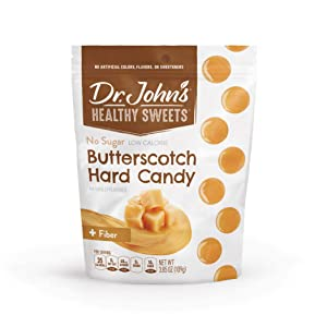 Dr. John's Healthy Sweets Sugar Free Butterscotch Hard Candies (3.85OZ)