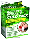 Instant and Reusable Cold Pack, Ice Pack instant And Reuse, (1 CASE, 24 EACH)