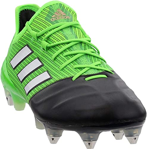 adidas Womens Ace 17.1 Soft Ground Soccer Casual Cleats Black 8