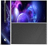 Sticker Skin Print Space Orbit Colored Cosmic Vaper Smoke Waves Printed Design Xbox One Console Vinyl Decal Sticker Skin by Smarter Designs