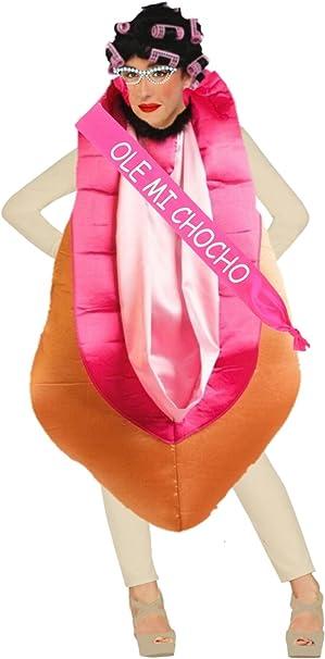 Disfraz de Chochona - Mujer, L: Amazon.es: Ropa y accesorios
