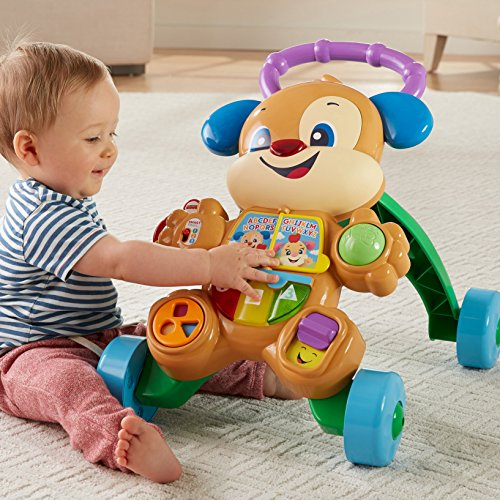 61y ApeQN0L - Fisher-Price Laugh & Learn Smart Stages Learn with Puppy Walker