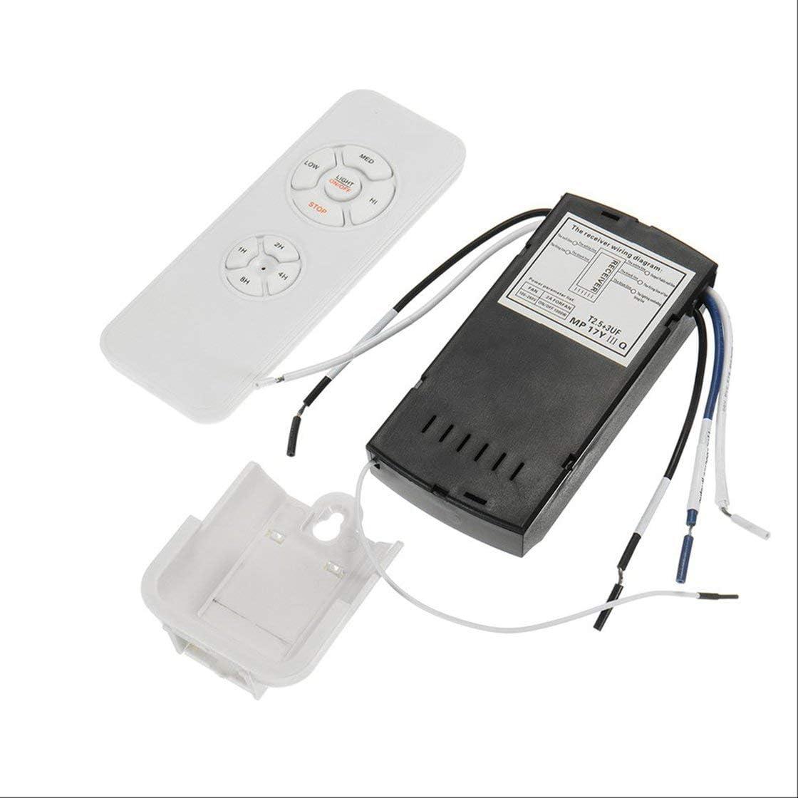 Ventilador de Techo Kit de Control Remoto Que sincroniza el Interruptor de Control inalámbrico