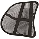 SystemsEleven MESH BACK REST POSTURE CHAIR LUMBAR SUPPORT FOR WORK/HOME/OFFICE/CAR
