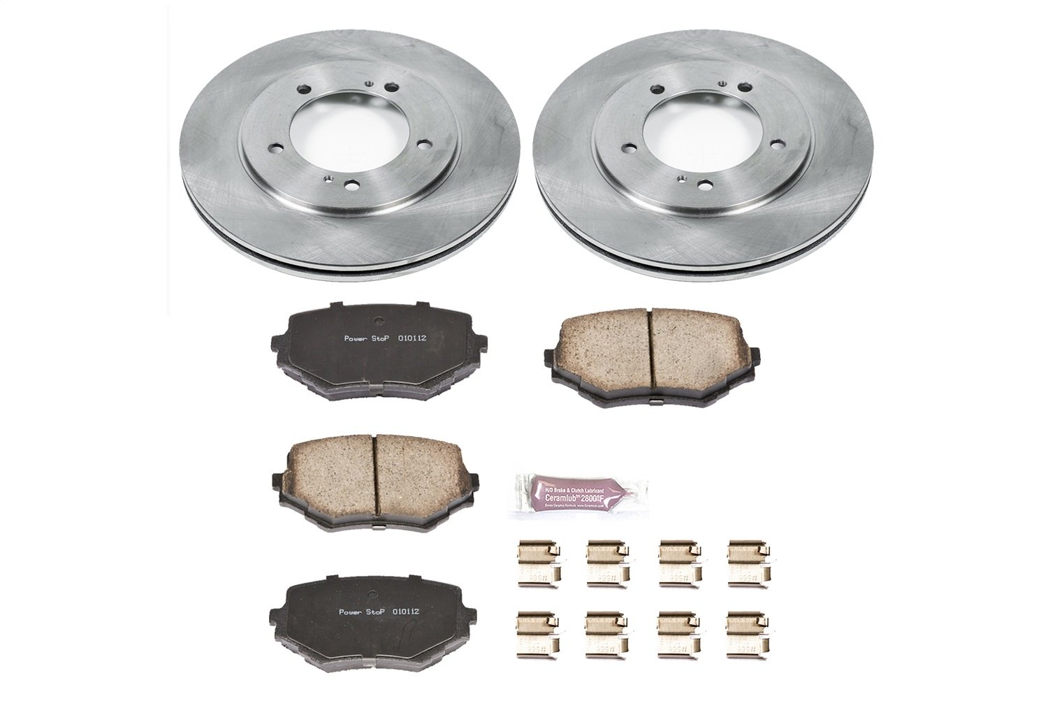 1-Click OE Replacement Brake Kit Autospecialty KOE5109