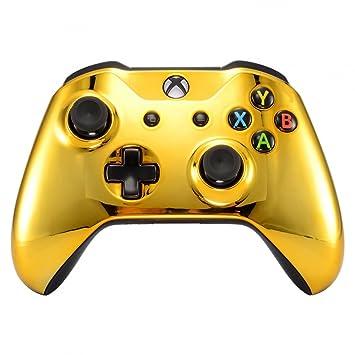 eXtremeRate Carcasa para Xbox One SX Funda Delantera Protectora de la Placa Frontal Cubierta de reemplazo para Mando del Xbox One S y Xbox One X ...