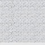 KonPon 8x8ft White Brick Wall Backdrop Photography Backdrop Brick Paper Photo Props Studio Background Paper KP-248