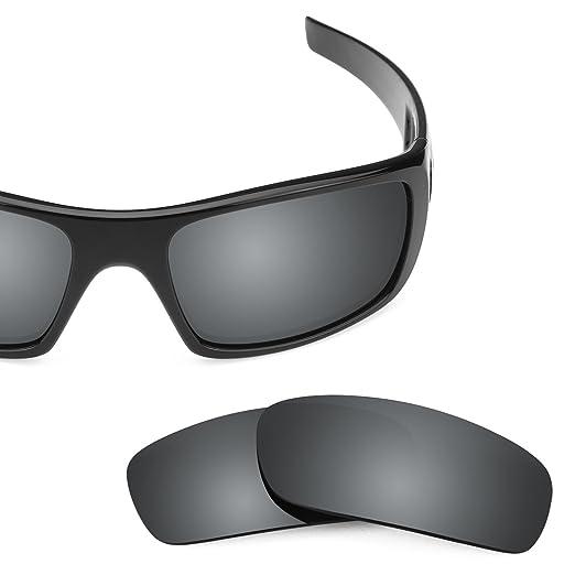 Revant Polarized Replacement Lenses for Oakley Crankshaft Elite Black  Chrome MirrorShield bff0a71f2f