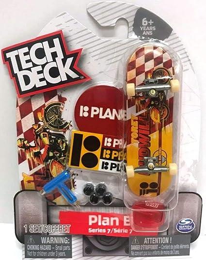 Tech Deck Plan B Skateboard 4 Pack