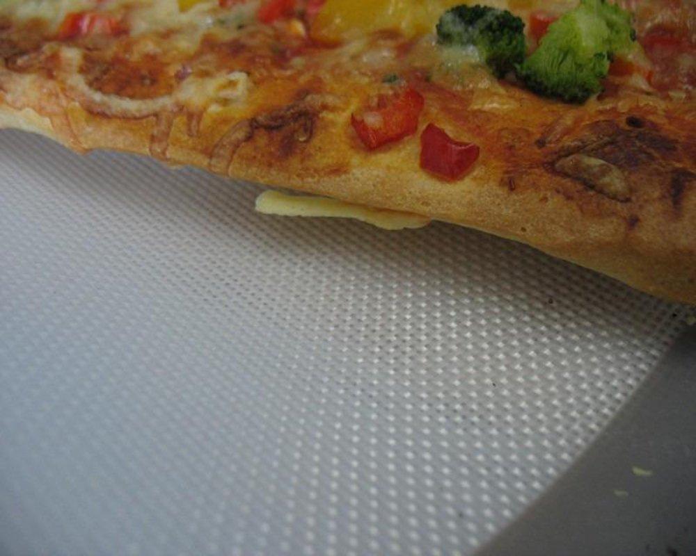 Homankit Silicone Baking Mat, Full Sheet Pan 15 3/4'' x 23 5/8'', Heat Resistance NonStick Reusable AntiSlip Odorless Sheet Grey by Homankit (Image #4)