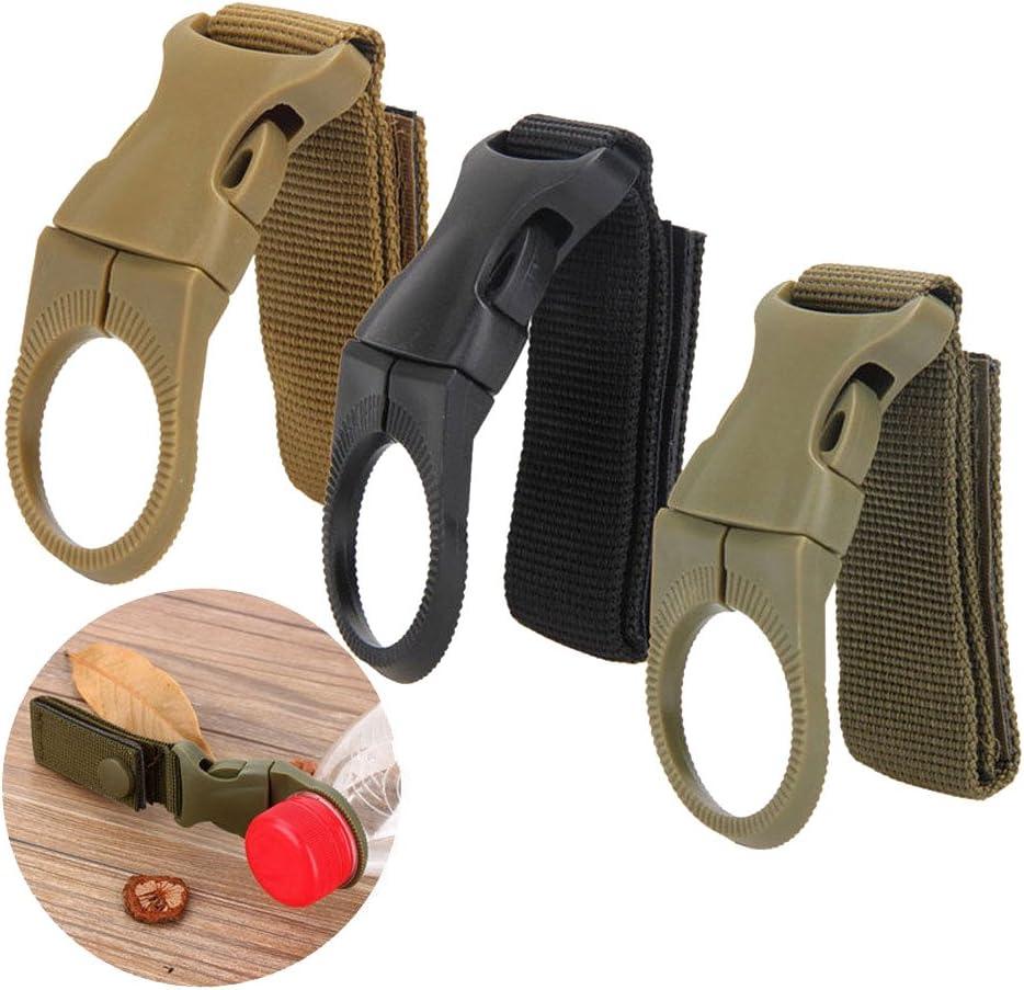 Rucksack Gürtel Flaschenträger Halter Band mit Clip Schlüsselanhänger