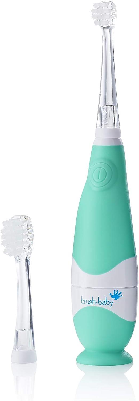 Cepillo de dientes eléctrico BabySonic de Brush-Baby para bebés y niños