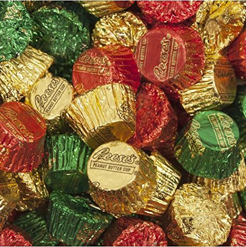 (REESE'S Holiday Peanut Butter Cups Miniatures, 80 Ounce (5 Pounds))