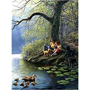 Places Remembered Spring Jigsaw Puzzle 1000 Piece By Sunsout