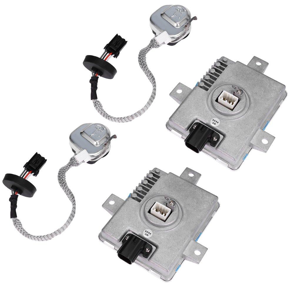 QKPARTS 2sets NEW for 2002-2005 Acura TL TL-S 3.2 Xenon Ballast & Igniter HID Headlight Unit