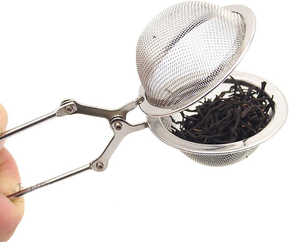 HUVE Presto Filtro Te con Manico acciaio inossidabile 2 Pack