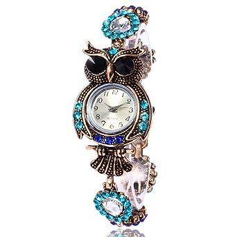 Amazon.com: MINILUJIA - Reloj de pulsera para mujer, diseño ...