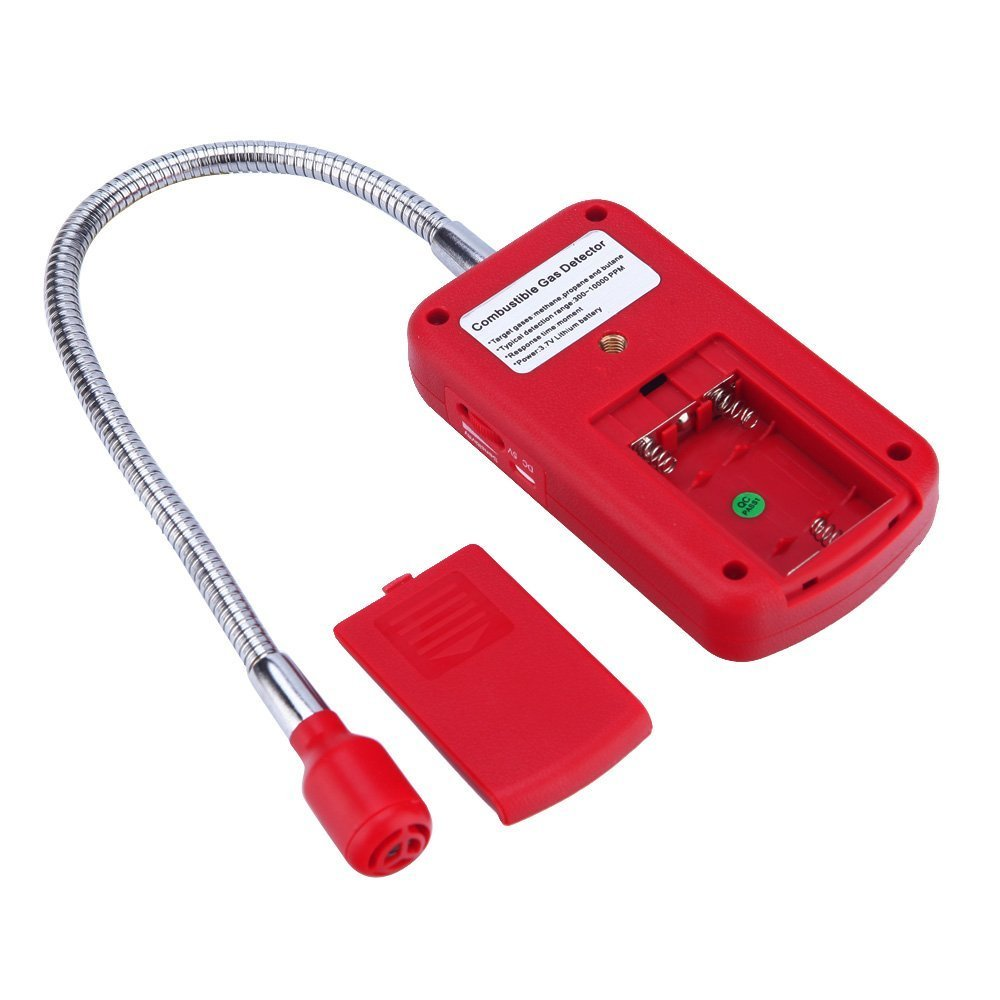 Natural Gas Kitchen Alarm System Smoke Gas Leak Detection Probe Home Security LS