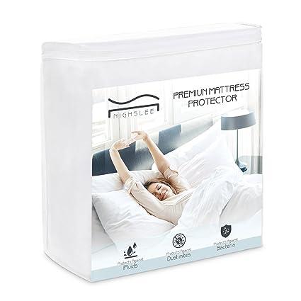 Amazon Com Nighslee Mattress Protector Waterproof Queen Mattress