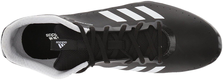 adidas Women's Sprintstar w, core Black/Orange/White, 12 M US by adidas (Image #5)