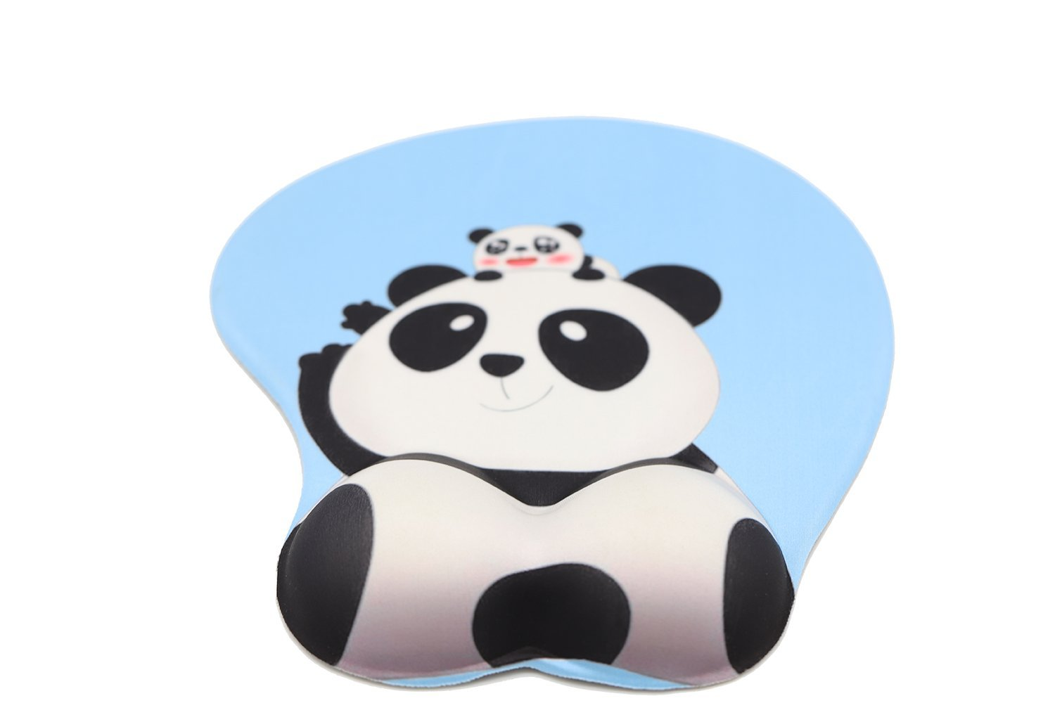 Cute Cartoon Panda Butt 3D Soft Wrist Support Gaming Office Mouse Pad (Panda) by Dream Date (Image #3)