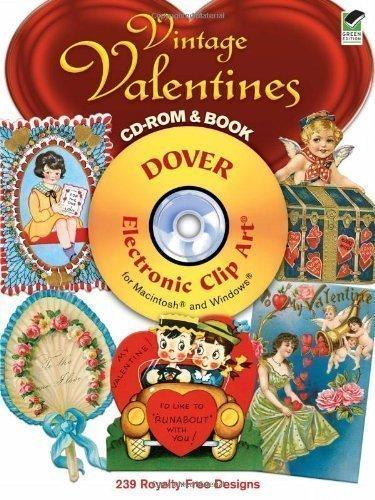 Vintage Valentine Clipart - Vintage Valentines (Electronic Clip Art)- copyright free images (Dover Electronic Clip Art) by Carol Belanger Grafton [25 March 2011]