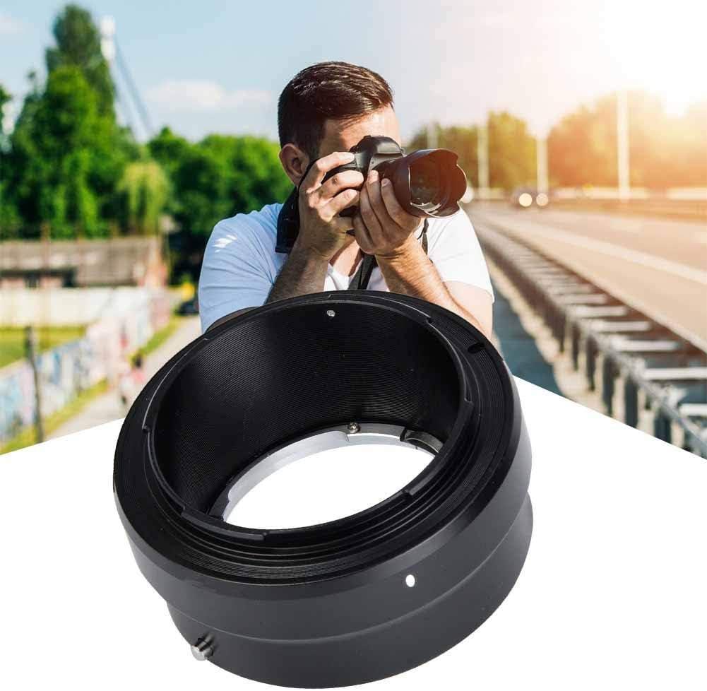 Manual Focus Lens Adapter in Aluminum for Minolta MD Lens to for Nikon Z Mount Cameras Vbestlife MD-NZ Portable Camera Lens Adapter Ring