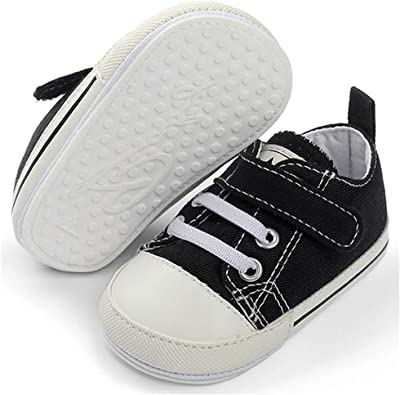 TIMATEGO Baby Boys Girls Canvas Shoes