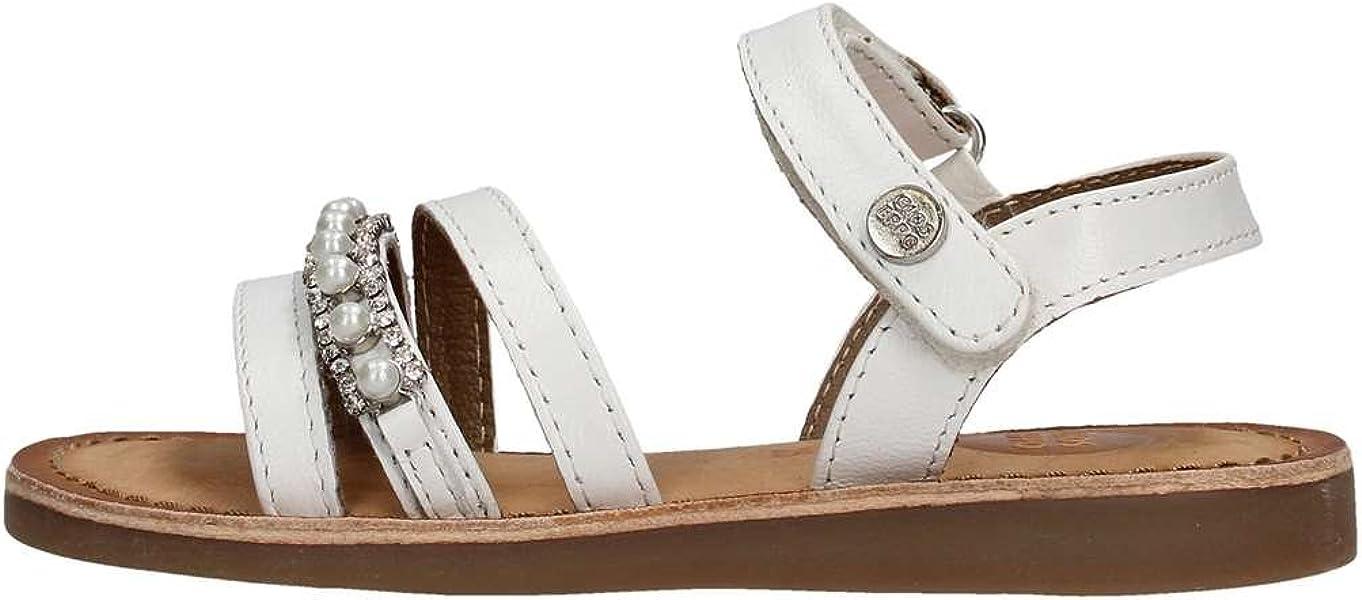 fcf76dfdb4e1a GIOSEPPO Sandales et Nu-Pieds Fille Blanc  Amazon.fr  Chaussures et Sacs
