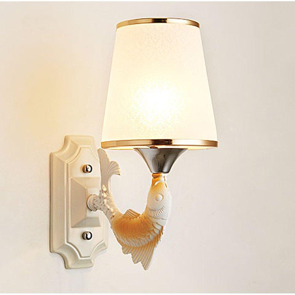 JU FU -Lichtbefestigung Moderne minimalistische Schlafzimmer Nachttischlampe Retro Tier Wandleuchte @