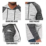 Ultra Game Men's NFL Fleece Hoodie Pullover