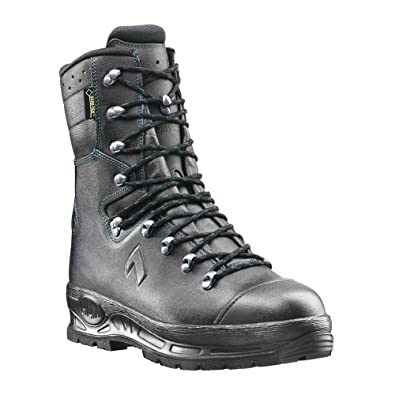 621343f91d1 Haix Protector Pro The Classic Forest Boot a high Leg Black