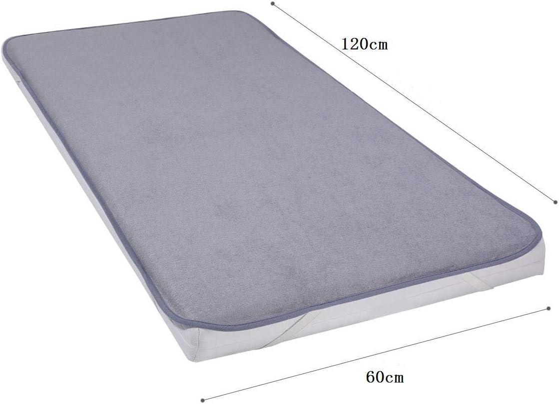 Protecteur de Matelas en Bambou pour Lit Anti-Acarien et Anti-Moisissure Antibact/érien 60/×120cm Housse de Matelas pour Lit de B/éb/é de YOOFOSS