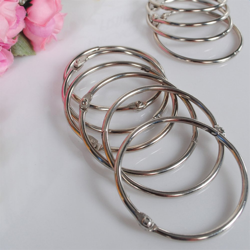 Demarkt Duschringe Duschvorhangringe Duschvorhang Haken Metall Ringe