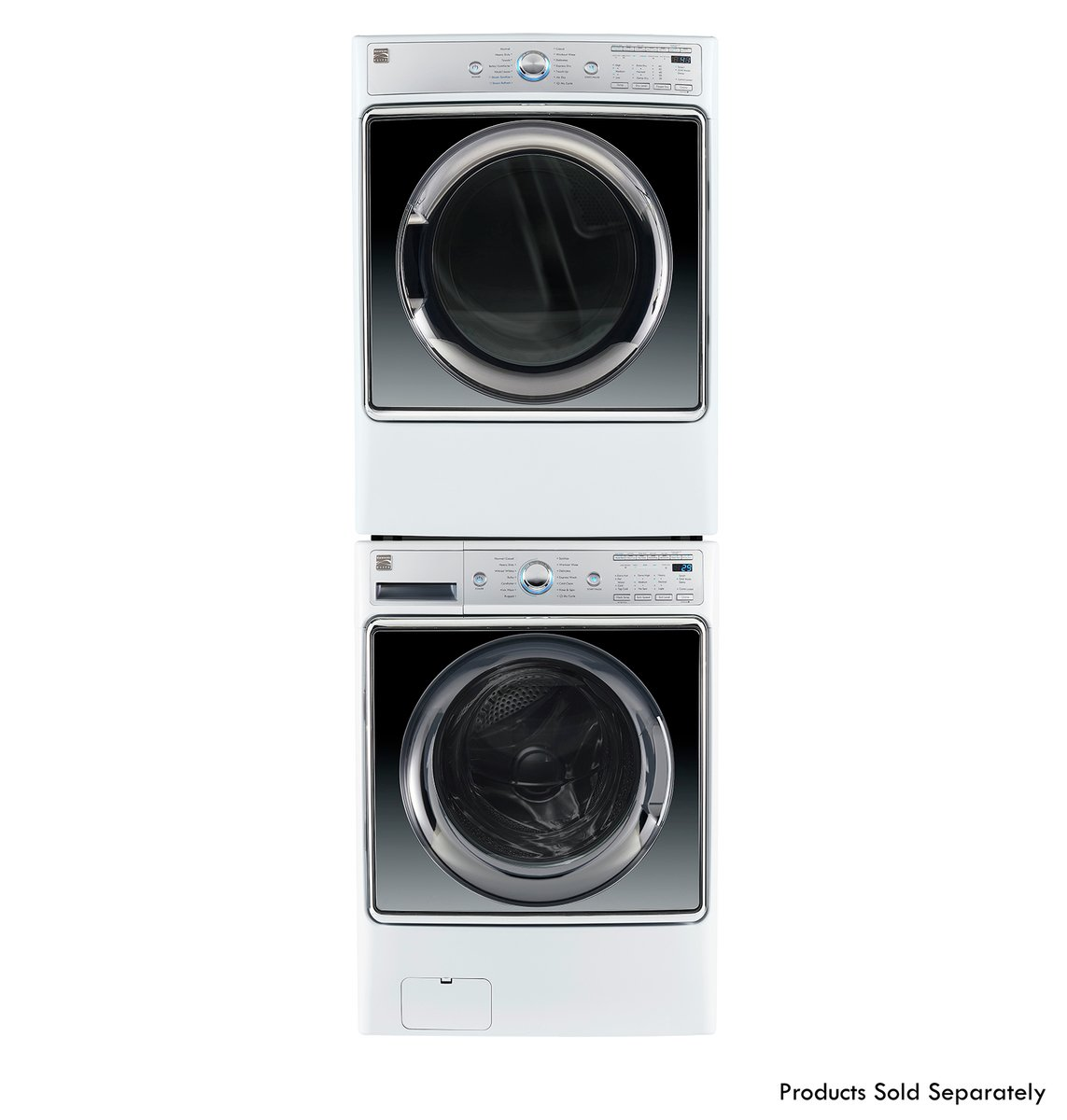 Kenmore Smart 91982 9.0 cu. ft. Gas Dryer with Accela Steam Technology in White - Compatible with Amazon Alexa, includes delivery and hookup (Available in select cities only) by Kenmore (Image #4)