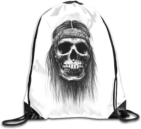 Acheter sac cordon de serrage tete de mort online 5