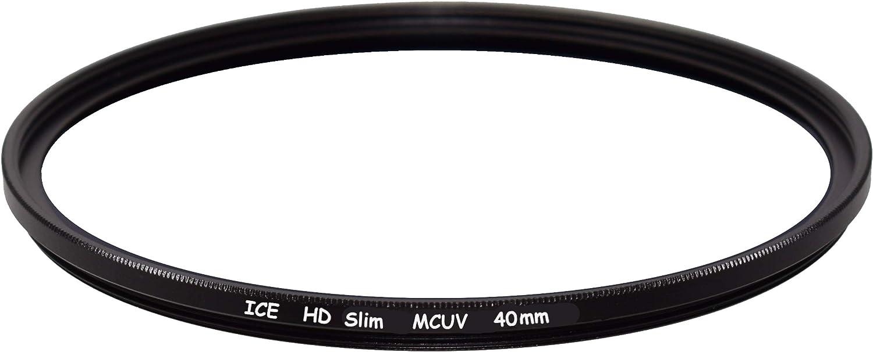 ICE HD 40mm Slim UV Filter Ideal for Fuji X10 X20 X30 MCUV 40 Thin EZ Clean