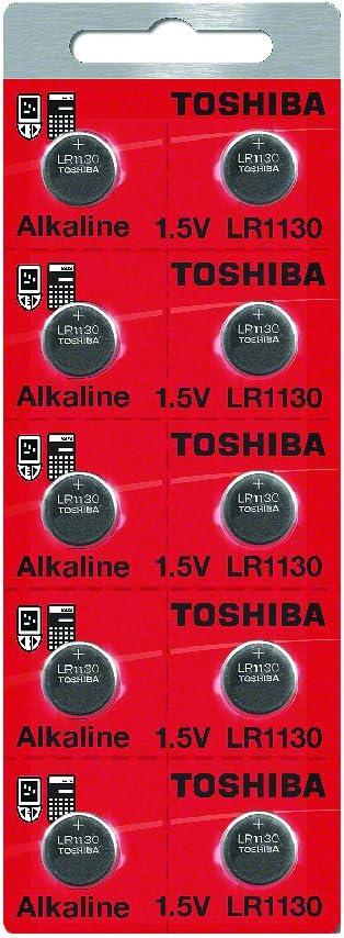 Toshiba LR1130 - Pilas alcalinas (1,5 V, 10 unidades)