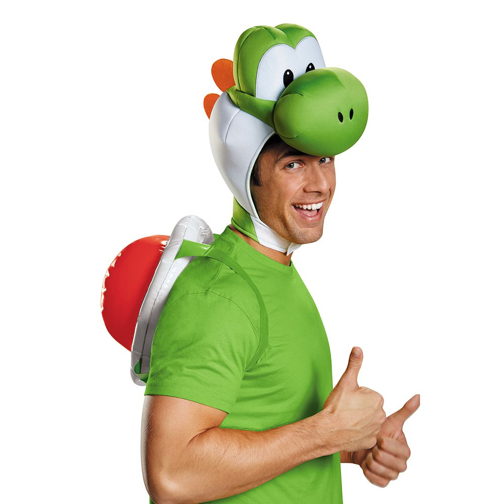 Disguise Men's Yoshi Costume Accessory Kit - Adult, Green, One Size by Disguise