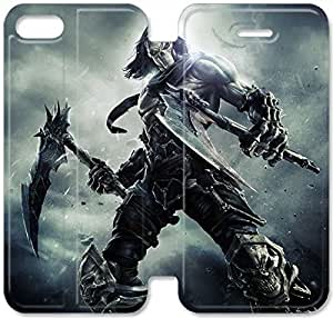 Premium Flip Ultra Slim Darksiders-6 iPhone 6/6S Plus 5.5 Inch Leather Flip Case