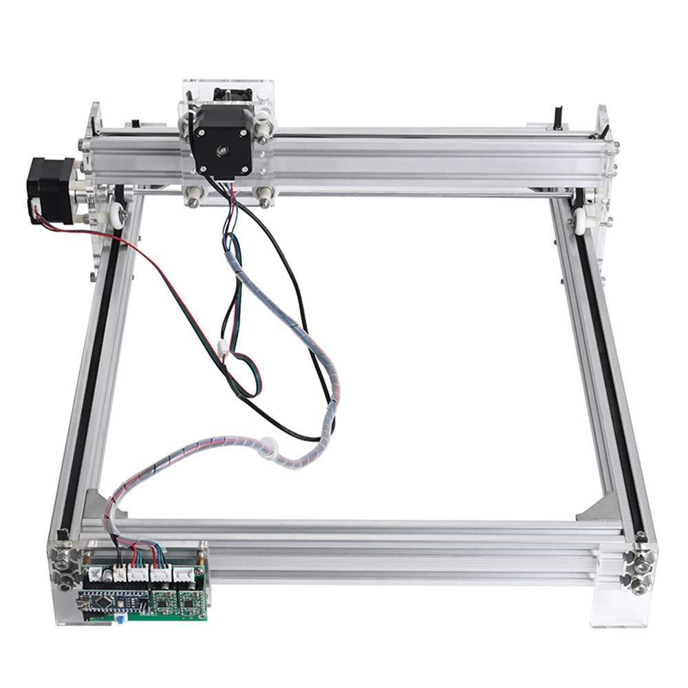 S SMAUTOP Kit de grabado l/áser, impresora de escritorio DIY Impresora de logotipo para marcado de im/ágenes, m/áquina de grabado de talla de madera USB de 12 V (30x40 cm, 15000 mW