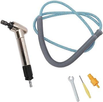 120 Degree Air Micro Die Grinder Kit Grinding Pen Pneumatic Tool Set 52500 RPM