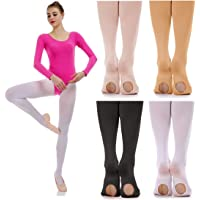 06b22d34e iMucci Ballet Dance Tights - Velet Convertible Ballerina Dancing Stockings