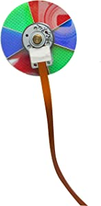 HCDZ Color Wheel for Mitsubishi Electric WD-60C10 WD-65C10 WD-73C10 WD-73838 938P215010-2 WD73640 WD73642 WD73740 DLP Home Cinema HDTV TV
