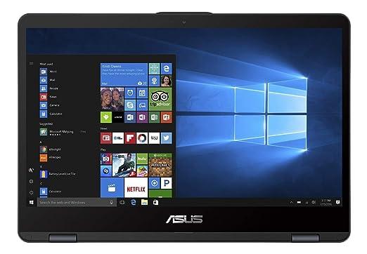 Asus Vivobook Flip TP410UA-EC323T - Ordenador portátil híbrido táctil de 14 Pulgadas Full HD Gris metálico (Intel Core i3, 4 GB de RAM, SSD 128 GB, ...