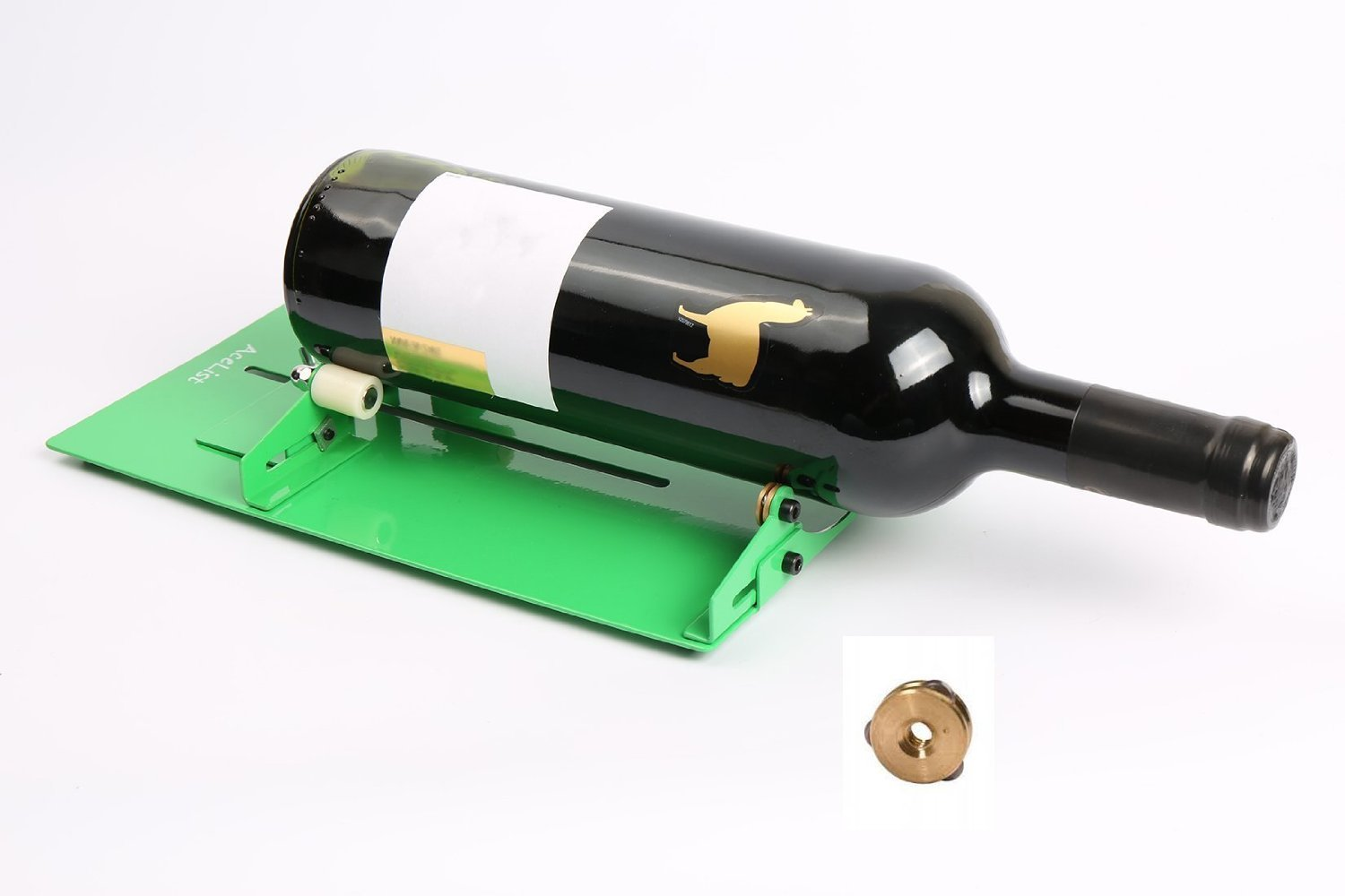 Acelist wine bottle cutter scoring machine cutting tool for Diy wine bottle cutter