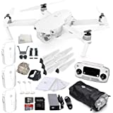 DJI Mavic Pro Alpine White Combo Collapsible Quadcopter Drone Starters Bundle