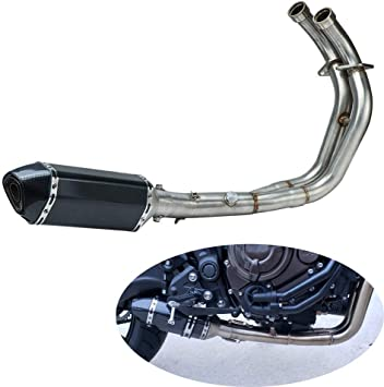 Complete Full system exhaust For Yamaha FZ-07 MT-07 2014-2017